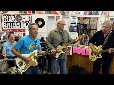 """George Tomsco and 3 Balls of Fire Live at Record Surplus Performing """"Torquay"""""""