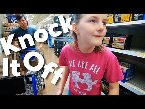 Misbehaving At Walmart