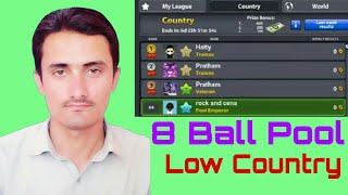 Low Winning Countries    How To Select 8 Ball Pool Low Wining Countries 100% Working