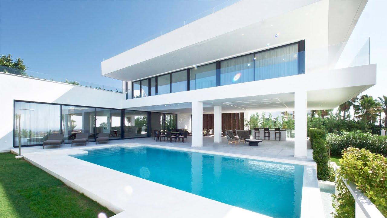 Brand New Contemporary Luxury Villa in Marbella, La Alqueria | Drumelia Real Estate