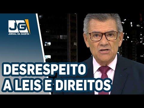 Rodolpho Gamberini / Paralisação desrespeita leis e direitos