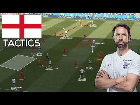 England: Tactics - Tactical Profile of Gareth Southgate