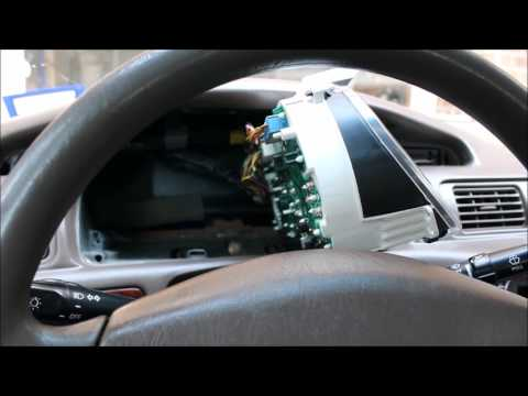2000 Camry Gauge Cluster Light Bulb Replace
