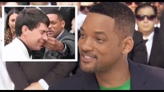 "Will Smith Talks Slapping Reporter: Kissing Journalist ""Probably Shouldn"