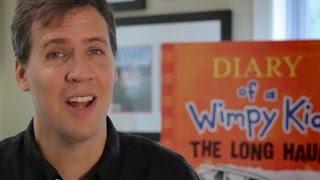Ein Langstrecken-Nachricht von Jeff Kinney - SIEHE DIE NEUEN COMICS!!
