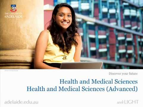 Discover your future in Health Sciences – Health and Medical Sciences (including Advanced)