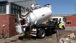Jetting and Vacuum Truck