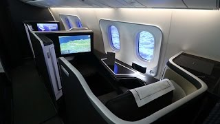 british airways boeing 787 9 first class london to muscat via abu dhabi