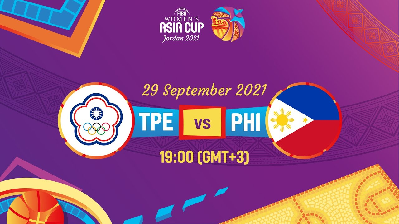 Chinese Taipei v Philippines   Full Game   FIBA Women's Asia Cup 2021 - Division A
