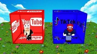 TikTok vs. YouTube Bau Challenge!