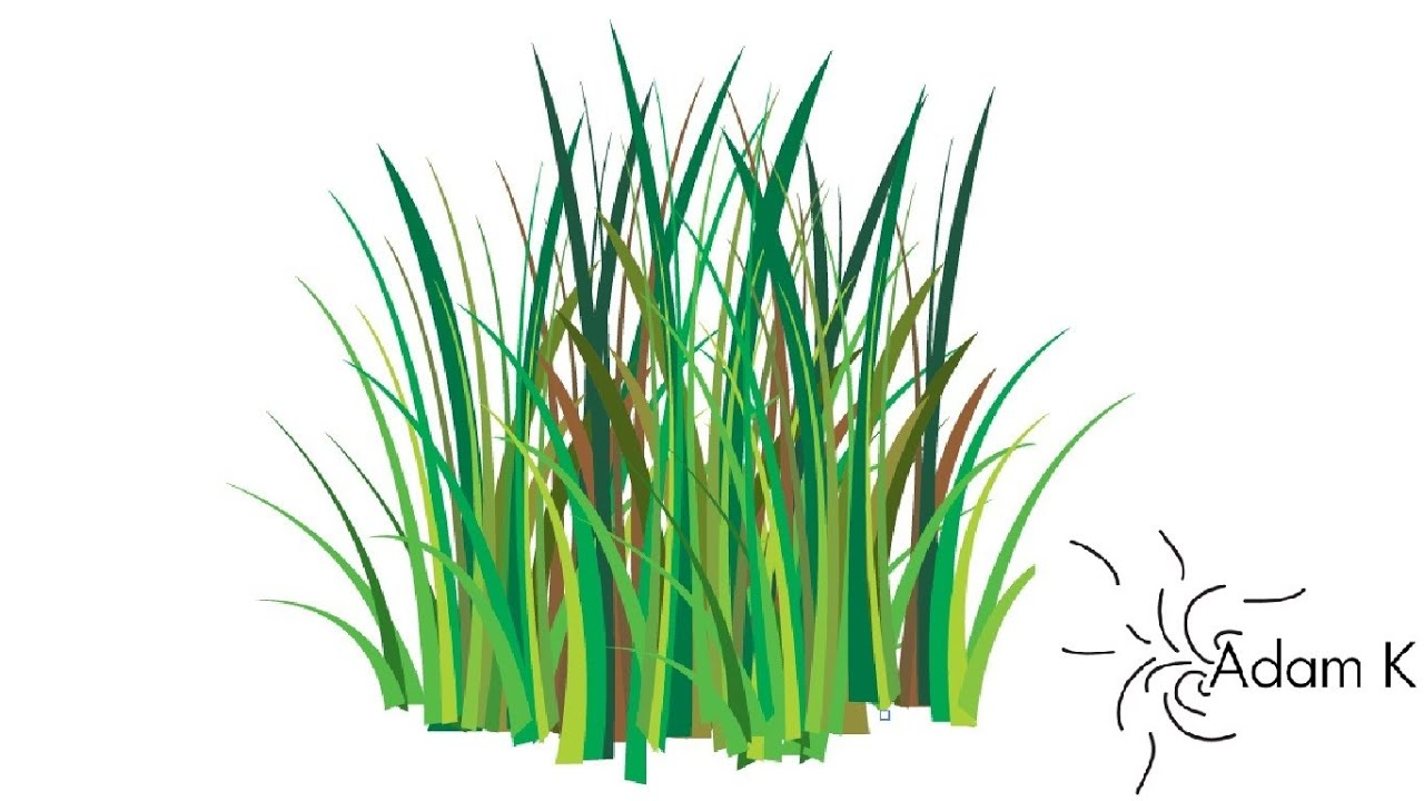 Quick Way/ How to create Grass Vector - YouTube