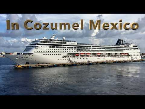 MSC Armonia in Cozumel Mexico