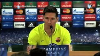 "Messi: ""Esta vez será diferente"". Barcelona - Bayern Munich. Fútbol Para Todos."