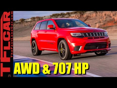2018 Jeep Grand Cherokee Trackhawk: The Faster and Most Powerful Jeep Ever Revealed