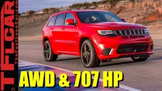 2018 Jeep Grand Cherokee Trackhawk: The Fastest and Most Powerful Jeep Ever Revealed