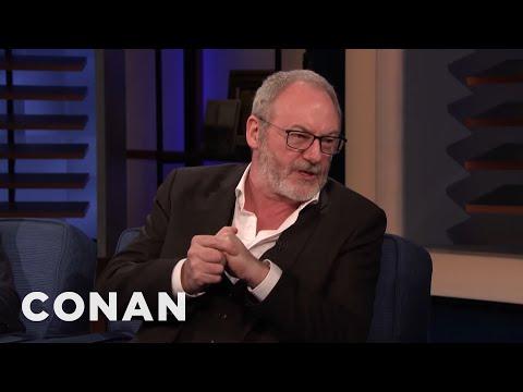 Liam Cunningham Wants To Play Old Jar Jar Binks - CONAN on TBS