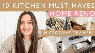 10 MUST HAVES TO INCLUDE IN YOUR KITCHEN RENO | BOBAK RENO SERIES | ELA BOBAK