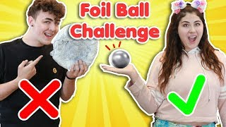 POLISHED FOIL BALL CHALLENGE | DIY how to make the best polished foil ball