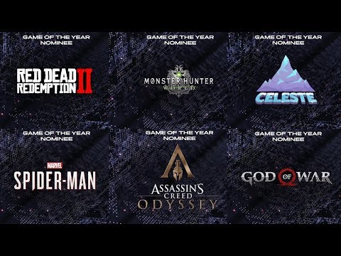 The Game Awards 2018 | Game Of The Year (Nominees) Trailers