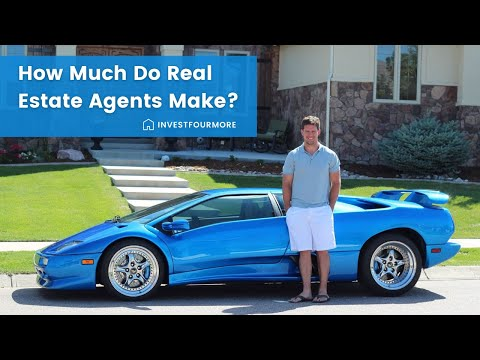 How much money do real estate agents make?