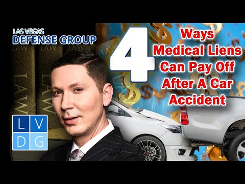 """Vegas car accidents: 4 reasons to use """"medical liens"""" rather than health insurance"""
