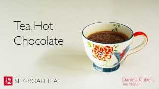 How to Make Tea Hot Chocolates