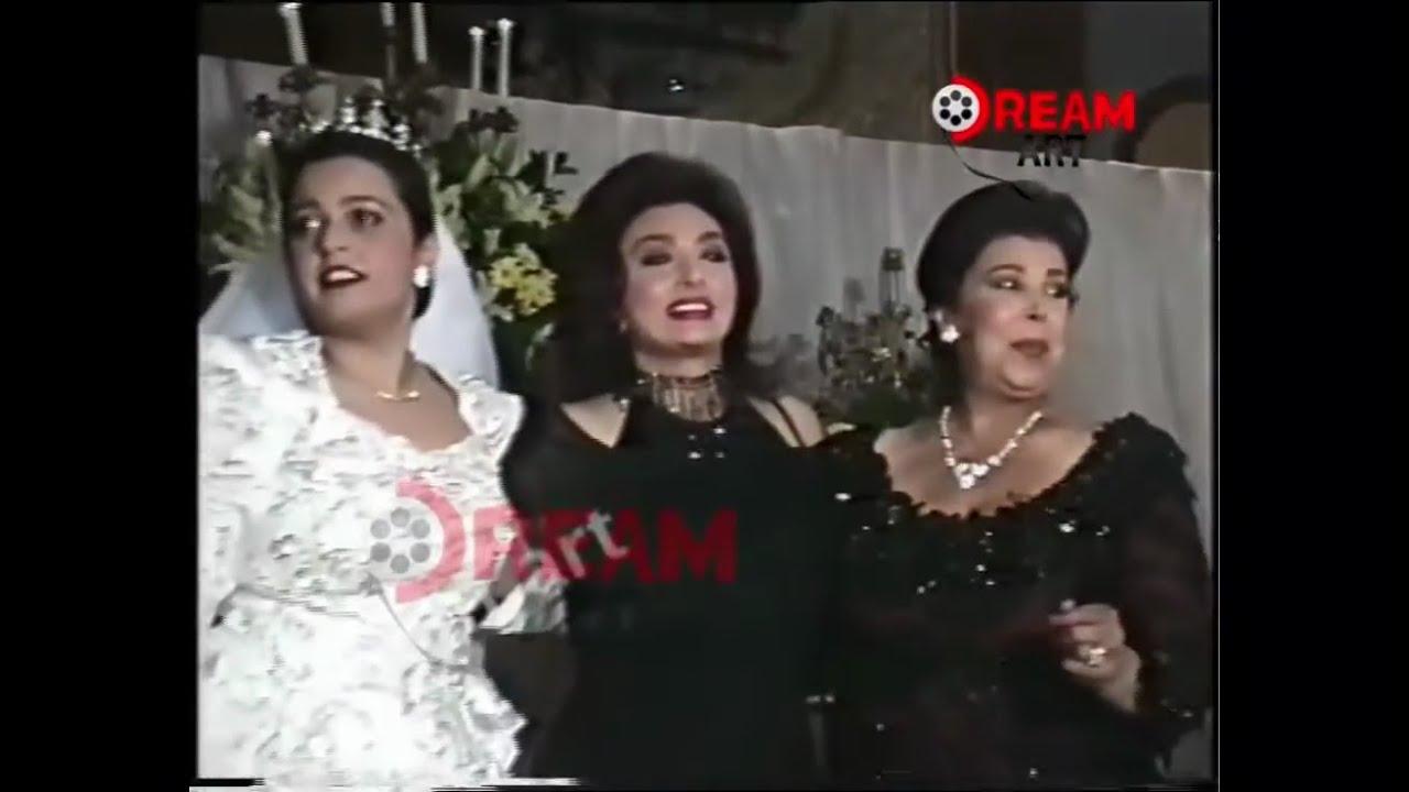 فرح بنت الراحلة رجاء الجداوي بحضور الزعيم عادل إمام وكل مشاهير مصر
