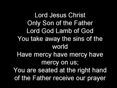 Glory to God in the highest Christmas mass with lyrics