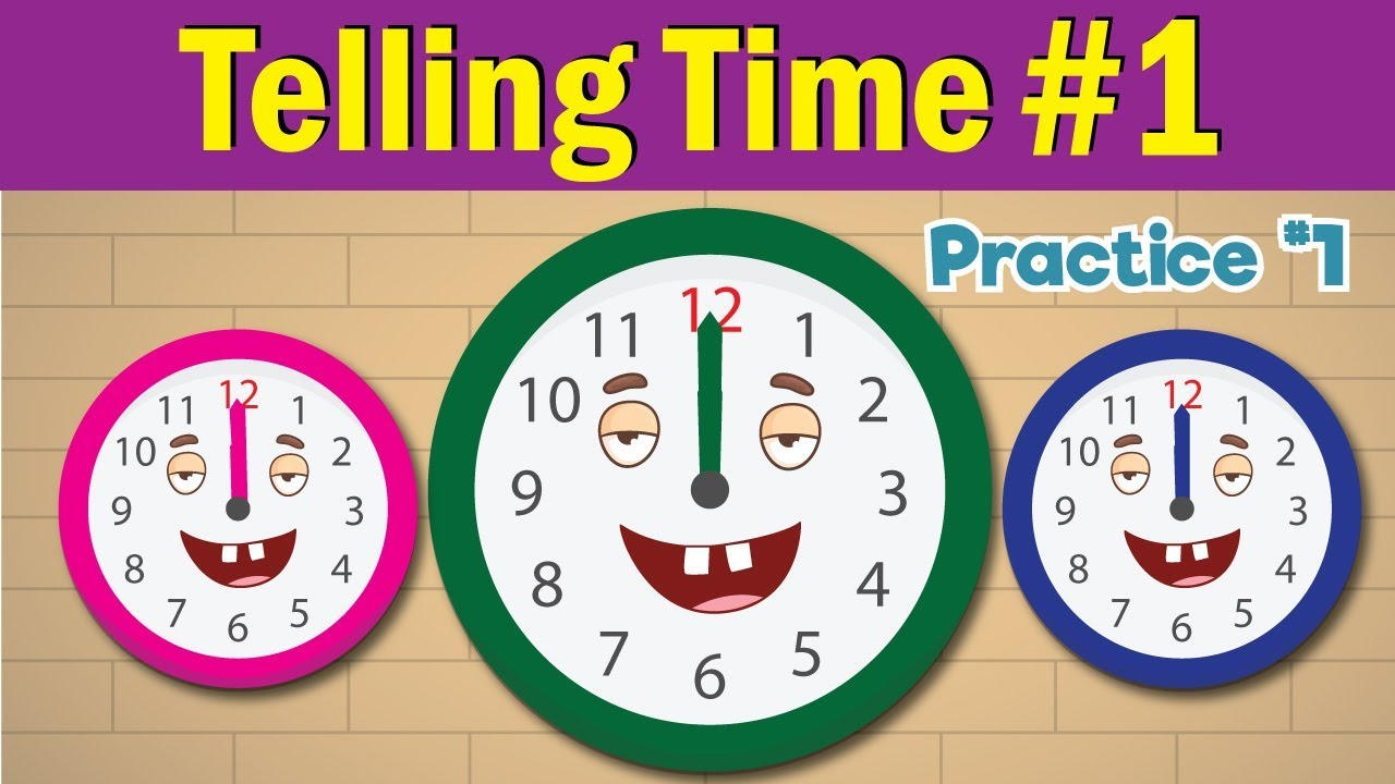 worksheet Learn To Tell Time learn to tell time 1 telling the practice for children whats fun kids english