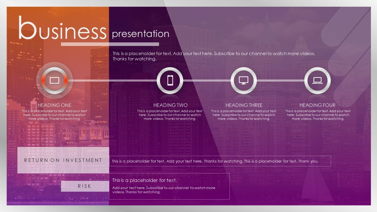 how to create a brilliant business presentation slide design in