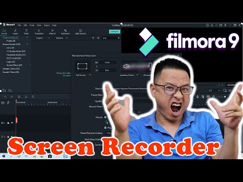 How to Record PC Screen In Filmora9