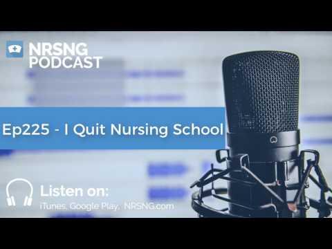 Ep225 - I Quit Nursing School