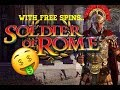 ++ SOLDIER OF ROME ++ With Free Spins!!