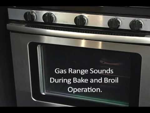 Gas Range - Sounds made during cooking