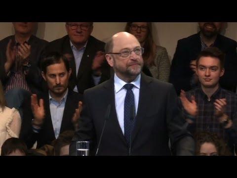 EU veteran Schulz confirmed as Germany's SPD leader