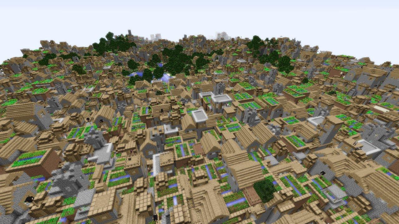 Infinite Villages in Minecraft!