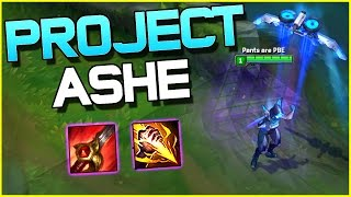 PROJECT ASHE JUNGLE - Gameplay | League of Legends