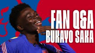 Unicorn Memes, Inspirations & Favourite Meal Deal 🦄 Bukayo Saka's Fan Q&A