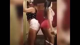 Bu kızlar çıldırmış twerk 1