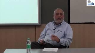 Public Lecture by Nobel Laureate Prof. Joseph Stiglitz - July 5, 2016
