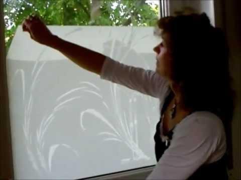 Beliebt Montageanleitung zum verkleben der Fensterfolie - YouTube ZB25
