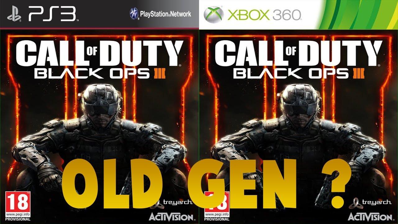 "Black Ops 3 ""OLD GEN"" en développement ?! (BO3 PS3/XBOX360 ...Video Games Xbox 360 Bo3"