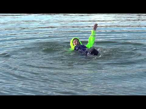 Fladen Flotation Suit Test