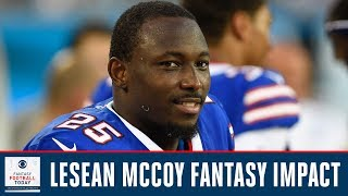 FANTASY VALUE UPDATE: LeSean McCoy, Damien Williams, Carlos Hyde | Fantasy Football Today