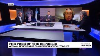 TWTW: France teacher attack, Trump-Biden debate, Thailand & Nigeria protests, EU 'veggie' burger row