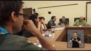 Jornal Acontece - Reunião com escoteiros LIBRAS