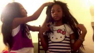 Repeat youtube video Lil girls Perm It Up!!