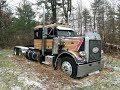 Download Video Rescuing a 1977 Peterbilt 359 From Its Grave - First Time On the Road in 18 Years