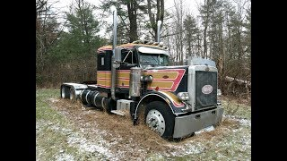Rescuing a 1977 Peterbilt 359 From Its Grave - First Time On the Road in 18 Years