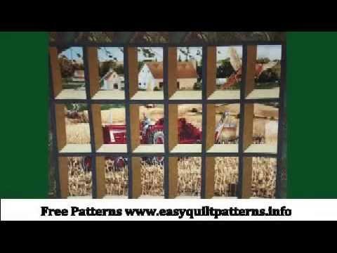 Christmas Attic Window Quilt Pattern.Attic Window Quilt With Panel Fabric Attic Window Quilt Block